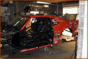 The Stanley And Weiss Camaro Pro Mod Under Construction for 2010
