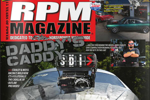 John Stanley And the Cadillac CTSV PDRA Pro Exterem Cadillac featured in RPM Magazine