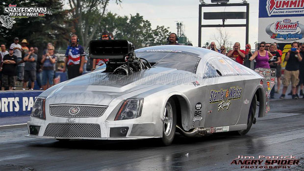 Stanley & Weiss Racing Cadillac CTSV Pro Mod At Shakedown Nationals