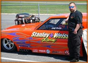 John Stanley, Pilot Of The Stanley And Weiss Racing Camaro Pro Mod