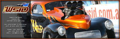 Sean Mifsud On The Front Page Of Western Sydney International Dragway